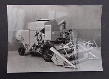 Photo ancienne BRAUD moissonneuse batteuse A2480V tractor tracteur Traktor 21
