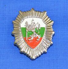 Bulgarian Border Police Officer Uniform COCKADE Cap BADGE