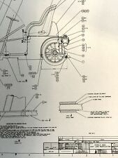 WDW Mr Toad's  Car blueprint