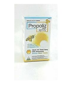 Propoliz Mouth Spray 15 ml Brazilian Green Propolis 100 % Natural World Shipping