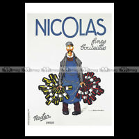 #phpb.000335 Photo NICOLAS, NECTAR 1954 FINES BOUTEILLES Advert Reprint