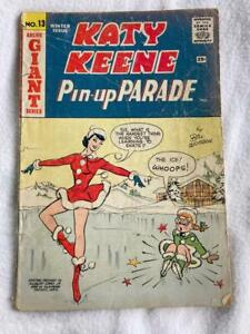 Katy Keene #13 Pin Up Parade Winter Issue 1960 Archie Comics