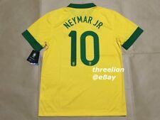 BNWT Nike 2013 BRAZIL BRASIL NEYMAR JR. Home Soccer Jersey Football Shirt Sz L
