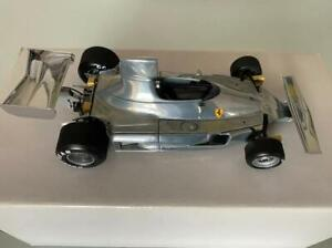 Niki Lauda Clay Regazzoni Ferrari 312T 1975 Polished Aluminum 1/18 Exoto