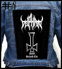 DEIPHAGO  --- Huge Jacket Back Patch Backpatch --- Various Designs