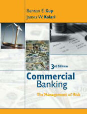 Commercial Banking: The Management of Risk 3rd Edition By Gup (9780471469490)