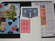 Jumbo Dream Queen Mental Magic Trick - Stage Version, Jumbo Cards, Read Mind