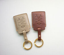 Leather Smart Key Chain Cover Fob For  Chevrolet CHEVY CORVETTE