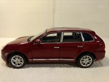 Porsche Cayenne Turbo SUV Truck In A Maroon 1:24 Scale Diecast From Welly dc2331