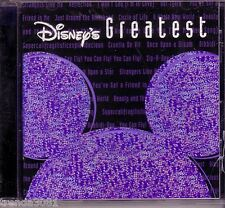 DISNEYS GREATEST Vol 1 CD YOU'VE GOT A FRIEND KISS THE GIRL HEIGH HO BELLA Rare