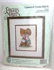 Precious Moments Love One Another Counted Cross Stitch Kit #131-33