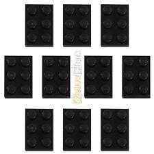 10x LEGO® 3021 2x3 Platte schwarz NEU black plate