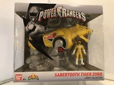 Power Ranger Legacy Mighty Morphin Sabertooth Tiger Zord