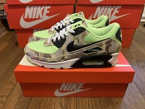 Nike Air Max 90 Green Duck Camo (US Size 10) CW4039-300 Brand New