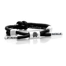 7cede02951cc5 Rastaclat Knotaclat Positive Vibes Black Shoelace Bracelet Jewelry RC025PVBK