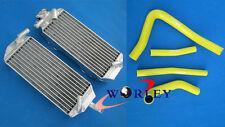 FOR Suzuki RM 250 RM250 2-stroke 1996 1997 1998 96 Aluminum radiator and hose