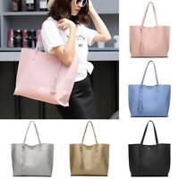 Women Leather Large Capacity Shoulder Bags Handbag Ladies Work Casual Tote Bag