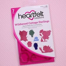 Heartfelt Creations Cut & Emboss Dies Wildwood Cottage Darlings, HCD7126 ~ NIP