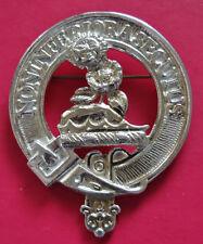Clan Buchan large badge or brooch