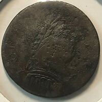 1787 CONNECTICUT COPPER MUTTON HEAD VARIETY RARE COLONIAL COIN
