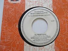 CATERINA VALENTE Johnny Dane  Ein Mädel wartet    Promo EP Vinyl: mint-