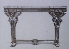 18th c. Louis XVI Table by G. Jacob, Magic Lantern Glass Slide
