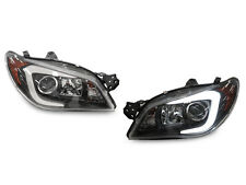 """C"" Light Bar LED D2S Projector Headlight fit for 06-07 Subaru Impreza WRX STi"