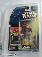 Star Wars POTF Ree-Yees Freeze Frame Power of The Force AFA Graded!!