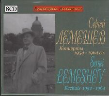 SERGEI LEMESHEV tenor Reitals 1954-1964 8CD BOX RUS NEW 2016!!!