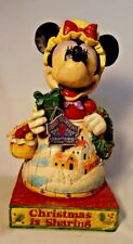 Jim Shore 2005 Minnie Mouse Holiday Christmas is Sharing Enesco Figurine 4004042