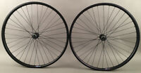 "Black Heavy Duty Velocity Cliffhanger 27.5"" 650b Disc Brake Bike Wheels Shimano"