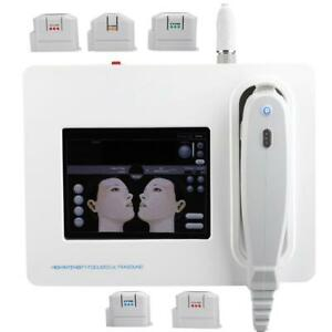 HIFU Machine High Intensity Focused Ultrasound Facial Skin Tighten Body Slimming