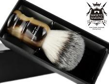 MASETO - Castle 4-Color 24&26&28mm High-end Silvertip Synthetic Shaving Brush