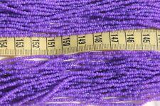 Silk Purple 11/0 Czech Glass Seed Beads Crafts Jewelry / Hank
