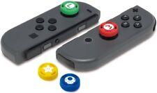 NEW! Nintendo Switch Super Mario Joy Con Joystick Analog Stick Grip Case Caps