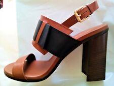 TOD'S new SANDALS block heel sz 40