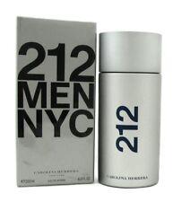 212 MEN NYC by Carolina Herrera 6.8 oz. Eau de Toilette Spray. New. Sealed Box.