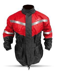 Fishing Rain Suit Red Size MEDIUM /  2 PCS/ Red