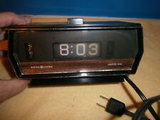 Vintage General Electric Flip Alarm Clock