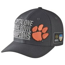 d22a7a2c69b NIKE Hat 2015 Capital One Orange Bowl Champions Clemson Snap Back Cap NWOT