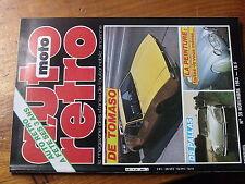 $$ Revue auto moto retro N°39 DS Pallas  De Tomaso  peinture  voitures a pedales