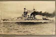"WWI USS BB-35 TEXAS DREADNOUGHT BATTLESHIP ORIGINAL SILVER GELATIN 6""X10"" PHOTO"
