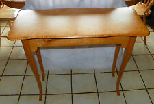 Tiger / Curly / Birdseye Maple Entry Table / Sofa Table (One of a kind) (T623)