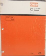 J. I. Case, Parts Catalog, 3294 Tractors...MC