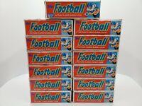 1988 Topps Football cards cello wax box 24 packs Bo Jackson RC PSA FASC new