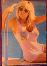 SAMANTHA FOX / DEPECHE MODE : DOBLE POSTER (SPANISH MAGAZINE)