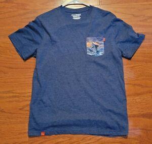 Huk Performance Fishing Men's Tee Shirt Size M