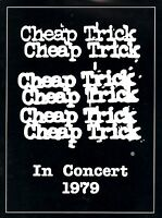 CHEAP TRICK 1979 DREAM POLICE TOUR CONCERT PROGRAM BOOK / BOOKLET / NMT 2 MINT