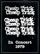 CHEAP TRICK 1979 DREAM POLICE TOUR CONCERT PROGRAM BOOK / NEAR MINT