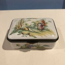 Staffordshire Enamel Beneath The Trees Ltd Ed New In Box